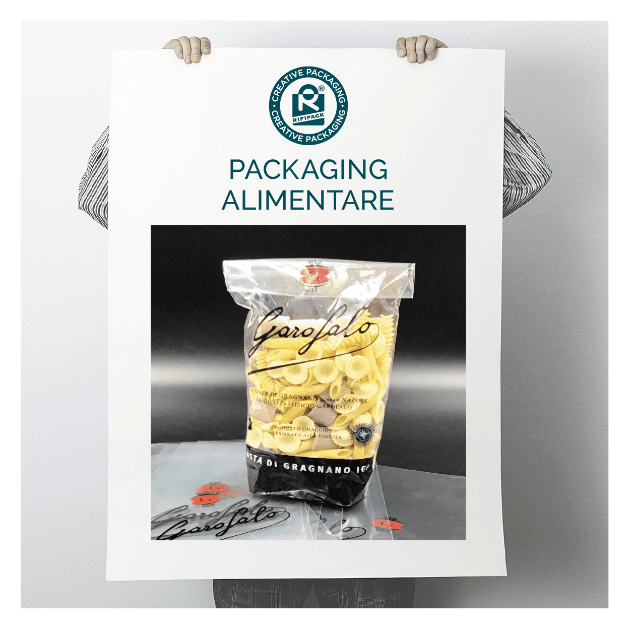 rifipack packaging alimentare buste pasta sacchetti trasparenti food alimenti
