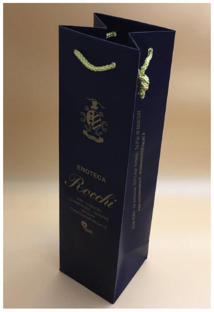 rifipack shopper bottiglia spumante champagne