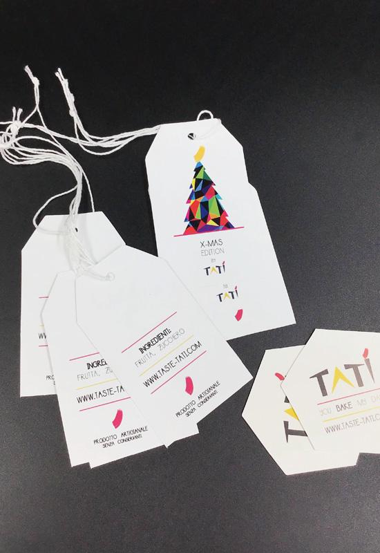 cartellini personalizzati sagomati forme speciali con laccetto auguri natale gift ingredienti rifipack