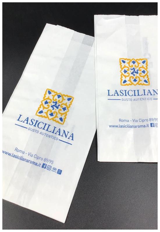 sacchetti alimentari fondo piatto pasticceria rifipack shopper personalizzate