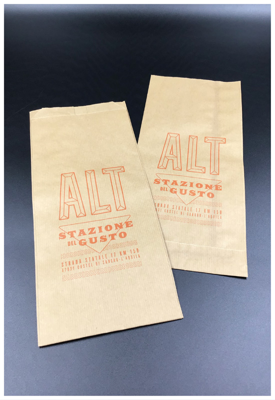 sacchetti per alimenti carta avana niko romito chef cibo da asporto take away food