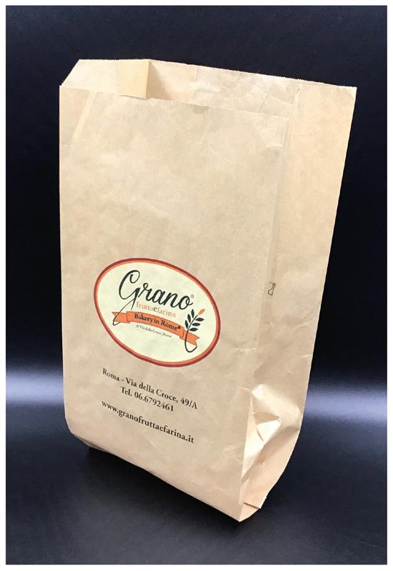 sacchetto pane rifipack carta avana fondo piatto