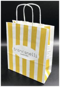 buste economiche shopper personalizzate rifipack maniglia ritorta stampa e personalizzazione