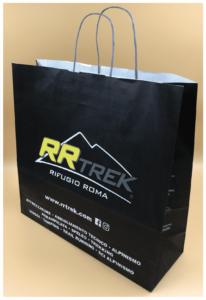 maniglia in carta ritorta shopper economiche rifipack shopper personalizzate creative packaging