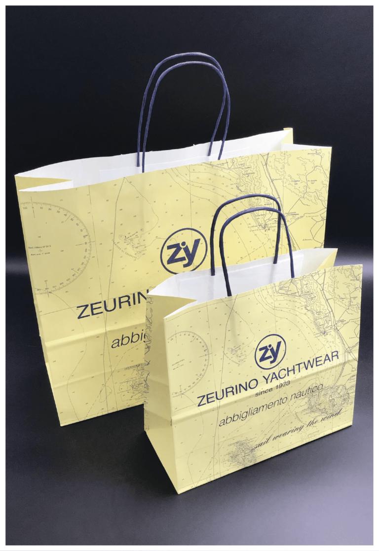 maniglia ritorta colorata maniglia in carta ritorta shopper personalizzate rifipack stampa colori