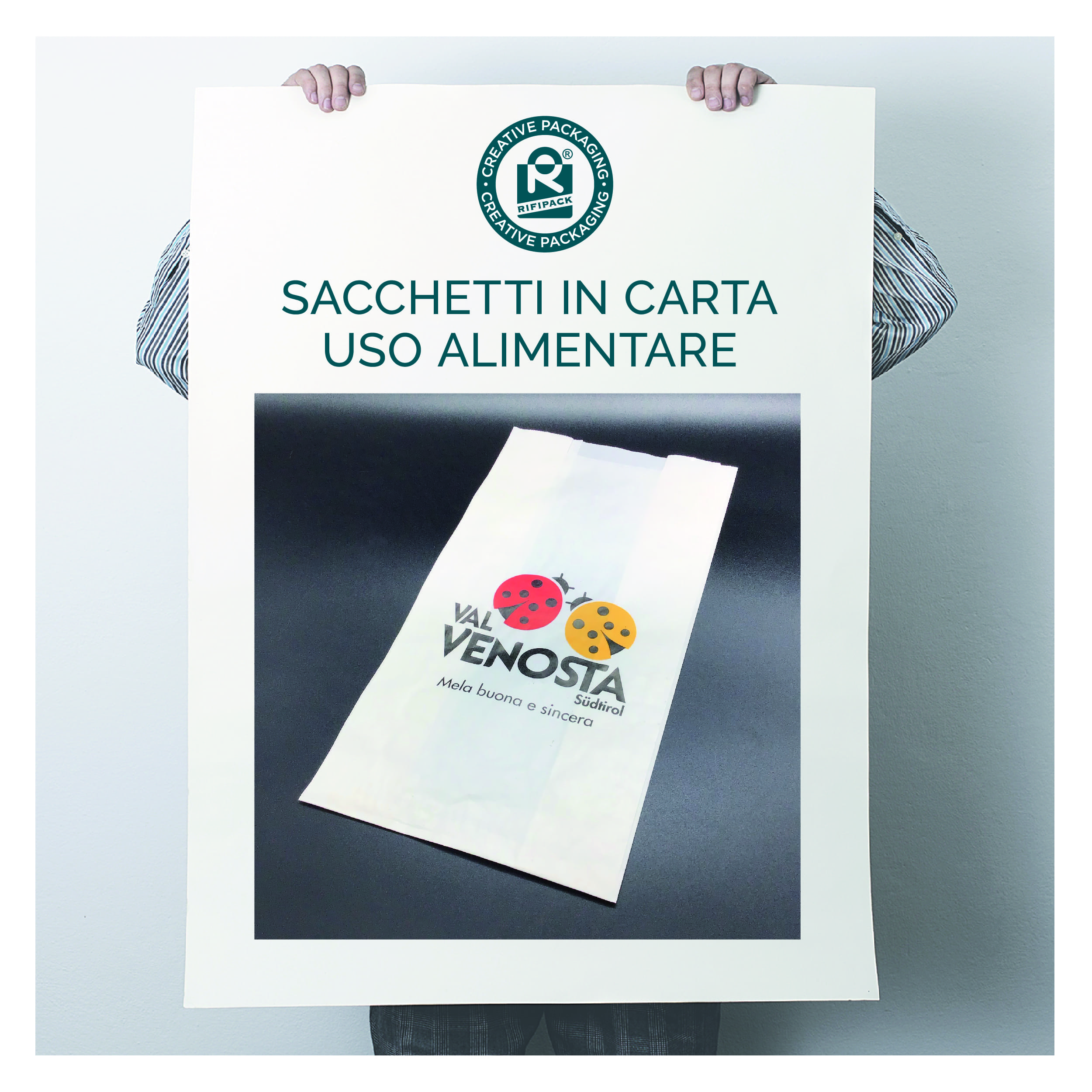 rifipack sacchetti in carta bianca uso alimentare packaging alimentare food