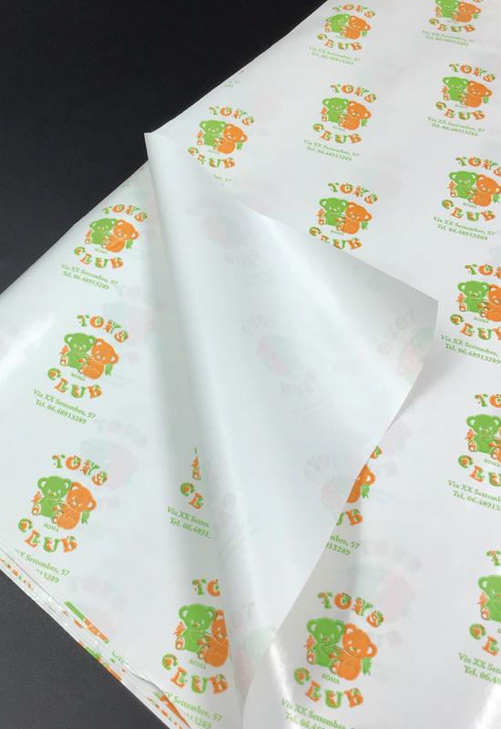 carta da involgere personalizzata regalo accoppiata politenata giocattoli rifipack