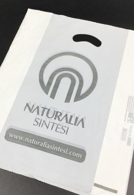 naturalia sintesi sacchetto cosmetica bellezza ecologico biodegradabile personalizzato rifipack
