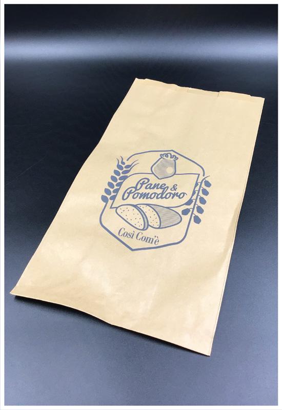 sacchetto pane sacchetto per alimenti rifipack carta avana