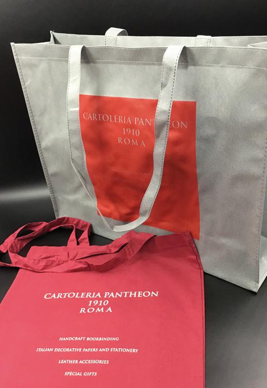 shopping bag tessuto colorato rifipack shopper bag tnt spesa riutilizzabile maxi cotone colorato