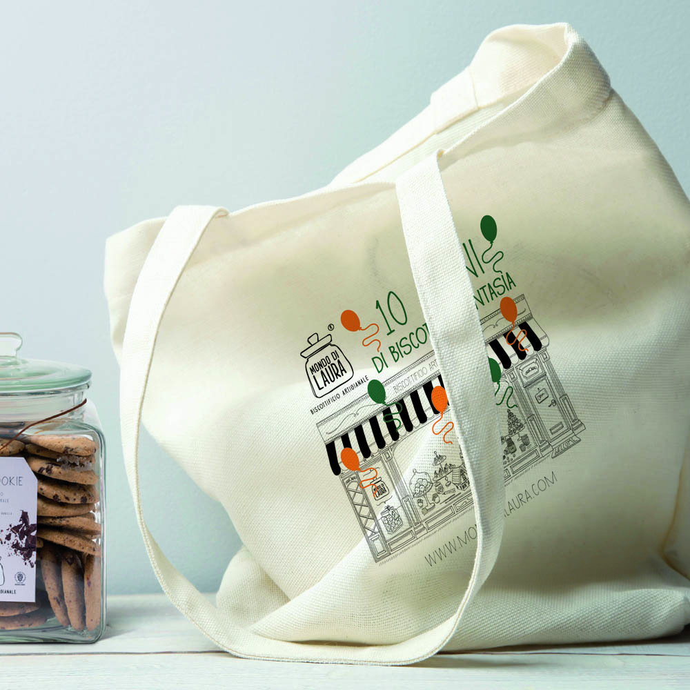 SHOPPING BAG IN TESSUTO PERSONALIZZATE